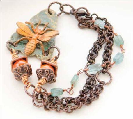 Melinda Barnett Bee Bracelet